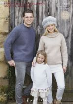 Hayfield Chunky with Wool - 9701 Jumpers Knitting Pattern